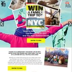 Win Return Flights for 4 (2 Adults + 2 Kids) to New York, 3nts Hotel, $360, Helicopter Ride + Tours, Spa from The NZ Herald