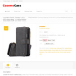 Wallet Case for iPhone X - US $26.99 (10% off + Free Shipping) @ Casemecase