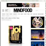 Win 1 of 5 Joico K-PAK Trios from Mindfood
