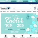 10% off on Everything, 20% off $350 Spend @ Treasurebox