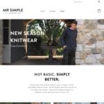 40% off Full Price Items @ Mr. Simple