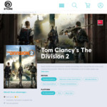 [PC] Tom Clancy's The Division 2 $4.50AUD (95% off) @ Ubisoft