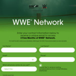 Free 3 Month Trial of WWE Network via Cricket Wireless (New / Non-Active Subscribers)