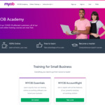 Free MYOB Online Training Courses @ MYOB