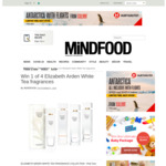Win 1 of 4 Elizabeth Arden White Tea Fragrances from Mindfood
