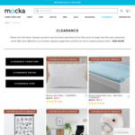 Extra 20% off Clearance (+ Free Shipping) @ Mocka NZ