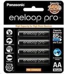 Eneloop Pro AA 2550mAh 4pk $18.40, Eneloop Overnight Charger + 4x AA Batteries $17.25 @ PB Tech