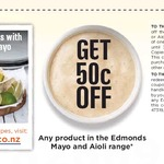 50¢ off Any Edmonds Mayonnaise or Aioli Product (Coupon)