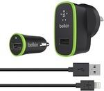Belkin Sale - Charger Kit $24, Stylus/Pen $3, iPad Air Cases $6 + More Belkin Deals @ Mighty Ape