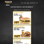 Carl's Jr August Coupons: Jr Carl + Pineapple Sundae $5.90, California Classic + Chilli Cheese Fries $8.90 + More