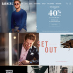 40% off Barkers Storewide