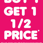 Buy 1 Get 1 Half Price on Nearly Everything Storewide @ Toyco
