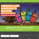 Win a Uniden 0.5w Handheld Radio 4-Pack Worth $99.95 from Road Tech Marine [Upload a Photo of a Place You Love to Visit]