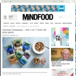 Win 1 of 7 Fresh Life Prize Packs from Mindfood