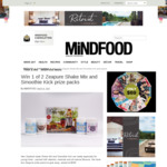 Win 1 of 2 Zeapure Shake Mix and Smoothie Kick Prize Packs (Worth $180) from Mindfood