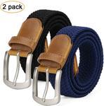 Men Braided Belt - US $11.99 / $18.07 NZD Delivered + Free Gift (50 Pieces) @ JASGOOD (HK)