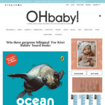 Win 1 of 3 copies of  Vehicles for Kiwi Babies and Ocean for Kiwi Babies from Oh Baby!