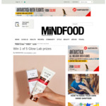 Win 1 of 5 Glow Lab Prizes from Mindfood