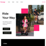 $5 off First Group Ride @ Flamingo Scooters