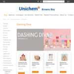 10% Off Nail Stickers (Dashing Diva) + $5.49 Shipping ($0 over $100 spend) @ Unichem, Browns Bay
