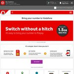 1.5GB Free Bonus When You Switch Your Number to Vodafone Prepay