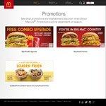 Free Combo Upgrade with Any Medium Big Mac Combo @ McDonald's