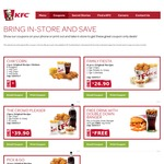 KFC May Coupons: Free Drink with Double Down Banger, 1pc + Any Reg Side $3.90 + More