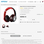 NZ $56 Mpow M3 over Ear Bluetooth Hi-Fi Headphone + $9 Shipping Cost @ Mpow Official Store