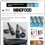 Win 1 of 4 Redken Brew Gift Sets from Mindfood