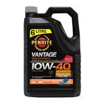 Penrite Vantage Semi Synthetic Engine Oil 10W-40 6 Litre + Bonus Engine Flush $35 (Usually $62) @ Repco