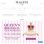 10% off Trelise Cooper, Paula Ryan & More @ Magpie Style