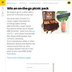 Win a Wilson & Co Copper Thermette, Picnic Basket, Bose SoundLink Mini Bluetooth Speaker from AA