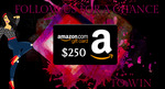 Enter to Win a $250 Amazon Gift Card