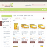 15% off All Alpine Silk Manuka Honey Skincare
