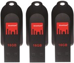 Strontium Pollex USB Flash Drive 16GB - 3 Pack for $19.99 + Shipping /CC @ Harvey Norman