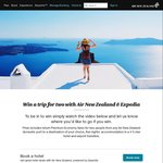 Win Premium Return Air NZ Flights for 2 to Anywhere + 5nts Hotel from Air NZ