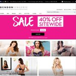 Bendon Lingerie - 40% Off Site-wide (except Stella McCartney)