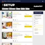 Up to 25% off Queen Studio or 10% off Double Studio @ The Setup Manners Accommodation, Wellington