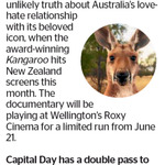 Win a Double Pass to Kangaroo from The Dominion Post