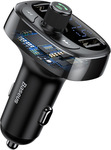 Baseus Car Charger Dual USB FM Transmitter Bluetooth MP3 Player $13.51 (Was $31.8) Delivered @ eSkybird