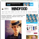 Win 1 of 2 Elizabeth Arden Ceramide Skincare Collection Packs + a Double Pass to Colette from Mindfood