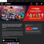 Toy Story 4  $12 (23/6 1.30pm) @ Event Cinemas