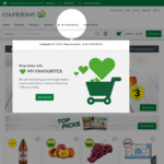 Free Delivery (Min Spend $200) @ Countdown Online Shopping