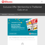 The Market Club Membership Free for Vodafone Customers (save $59/year)