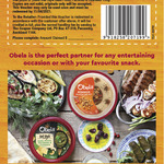 Free Obela Pine Nut Hommus 220g or Deli Style Basil Pesto, Pecorino & Cashews 150g (Redeemable at Supermarket)
