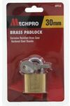 Mechpro Padlock 30mm & 40mm  - Set of 2 with 4 Keys $0.25 ea. @ Repco (Click & Collect mainly Auckland, Thames, Tokoroa)