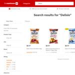 Delisio Caramelised Onion & Balsamic Vinegar / Sweet Chilli Relish 140g $0.97 @ The Warehouse