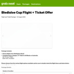 Air NZ: Bledisloe Cup Ticket & Return Flights from WLG to AKL from $199 @ GrabASeat