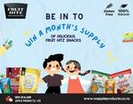 Win 1 of 10 One Month's Supply of Delicious Fruit Snacks from Kidspot