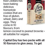 Win 1 of 2 Packs of 10 Kea Cookies from The Dominion Post